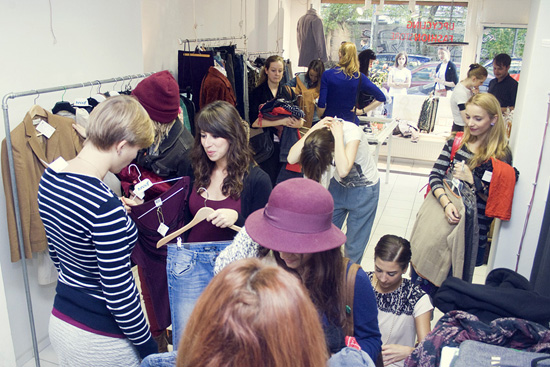 Common Vintage Tauschparty im Upcycling Fashionstore 4
