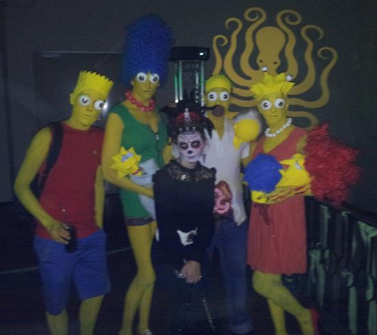 Die Simpsons Halloween Kostüm