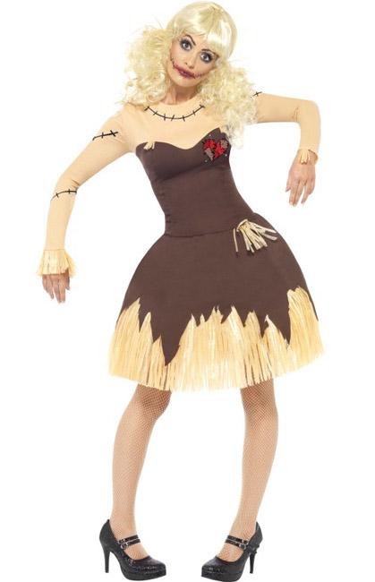 Halloweenkostüm Horror Vogelscheuche