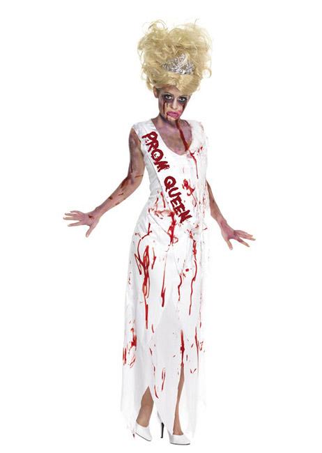 Halloweenkostüm Horror Zombie Ballkönigin