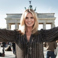 Heidi Klum und ASTOR Perfect Stay 8H-Lipgloss in Berlin