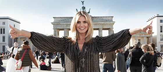 Heidi Klum und ASTOR Perfect Stay 8H-Lipgloss in Berlin