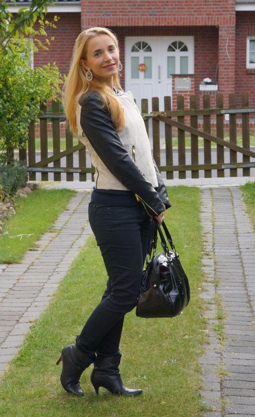 Outfit Mango Jacke 2