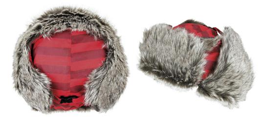 Pussy Deluxe Wintermütze rot 1