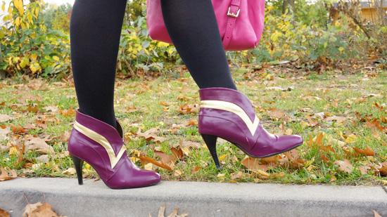 Schuhe zum Mantel von Desigual Last Night Blues
