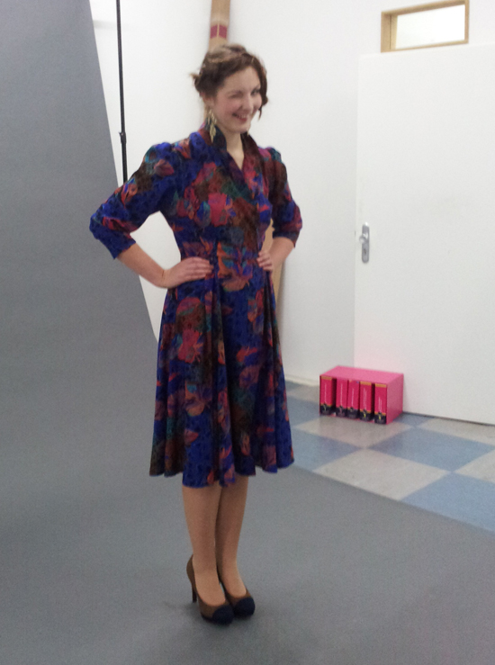 Backstage beim Common Vintage Fotoshooting 5