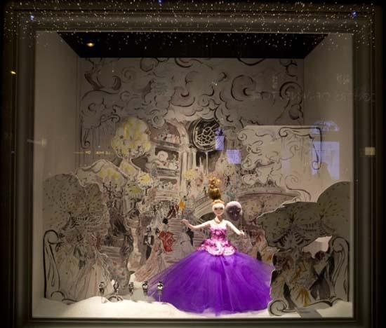 Dior Schaufenster im Kaufhaus Printemps 1