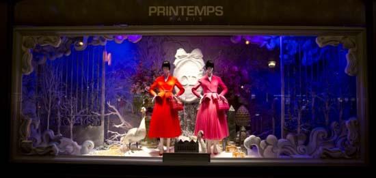 Dior Schaufenster im Kaufhaus Printemps 5