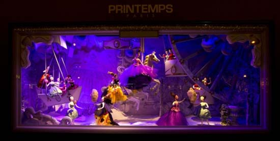 Dior Schaufenster im Kaufhaus Printemps 6