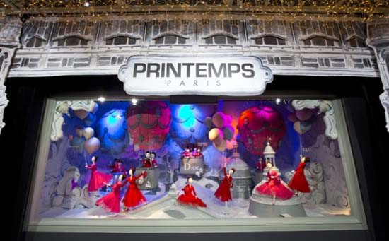 Dior Schaufenster im Kaufhaus Printemps 7