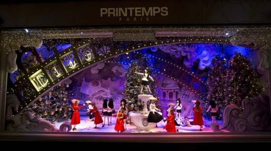 Dior Schaufenster im Kaufhaus Printemps 8