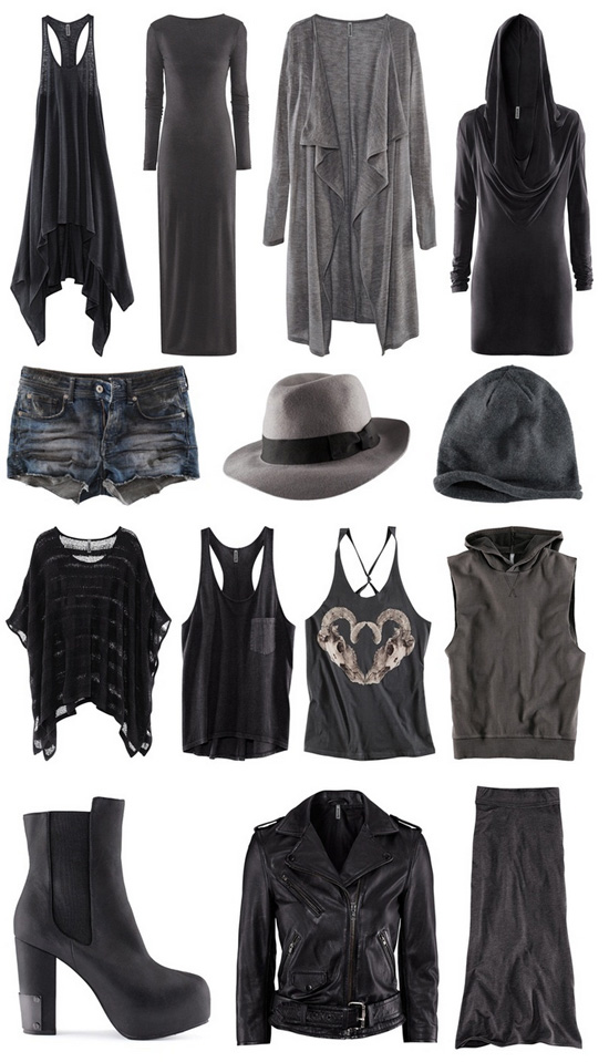 Divided Grey 2012 H&M Kollektion