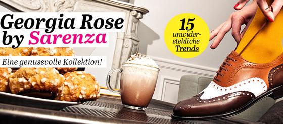 Georgia Rose Capsule Collection Kollektion Sarenza
