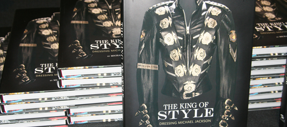 Michael Bush Buch The King of Style Dressing Michael Jackson