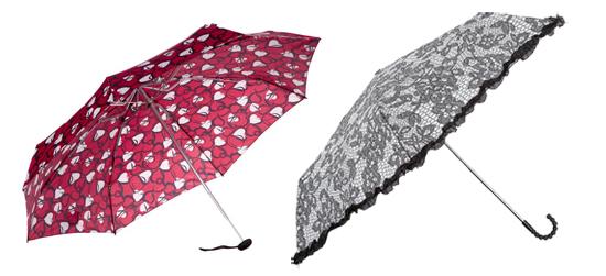 modische Regenschirme