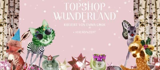 Winter Wunderland Emma Cook für Topshop