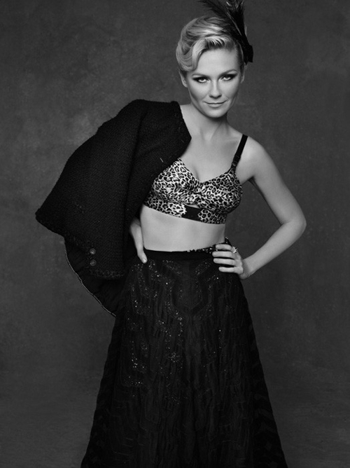 Chanel The Little Black Jacket Poster mit Kirsten Dunst by Karl Lagerfeld 1