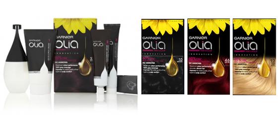 Colorations-Innovation - Garnier Olia