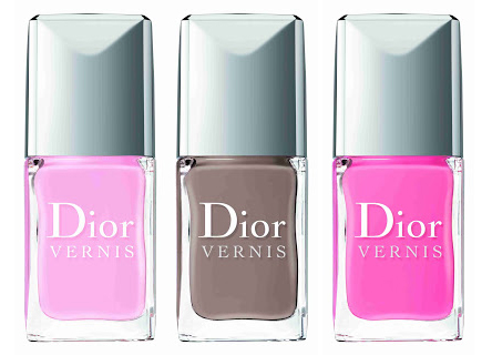 Dior Vernis Nagellacke Chérie Bow Spring Look 2013