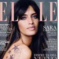 ELLE Spanien Dezember-Cover mit Sara Carbonero
