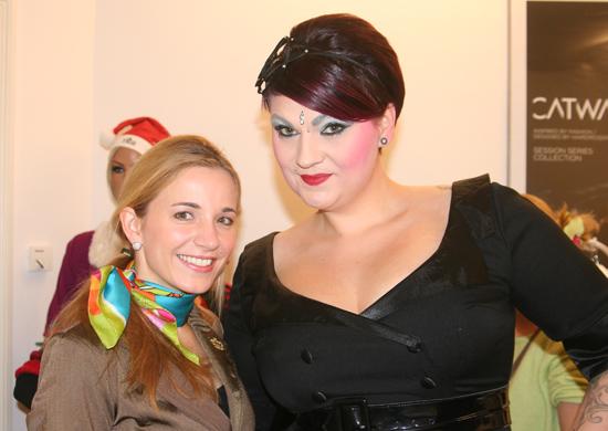 Christmas Burlesque-Shopping in der Hair Colada 3