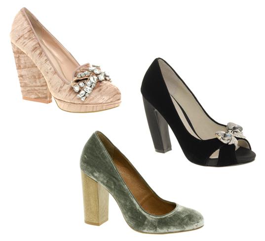 Schuhe aus Samt Samtschuhe bei ASOS