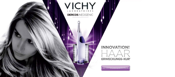 Vichy Dercos Neogenic Kur für die Haare