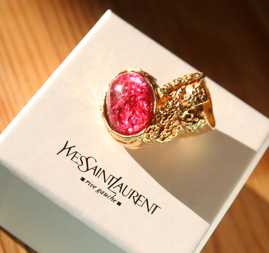 Yves Saint Laurent Arty Love Ring 1