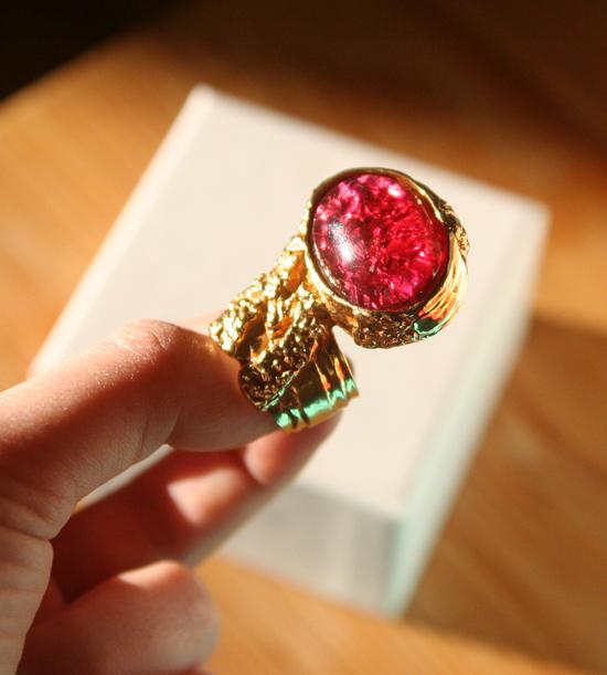 Yves Saint Laurent Arty Love Ring 2