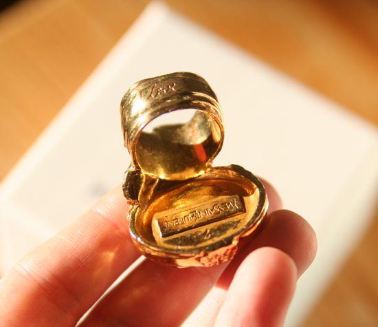 Yves Saint Laurent Arty Love Ring 4