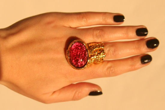 Yves Saint Laurent Arty Love Ring 5