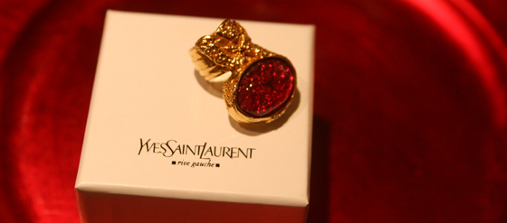 Yves Saint Laurent Arty Love Ring