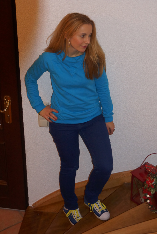 Outfit Cosy Blue 1