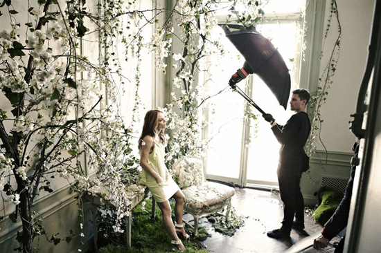 H&M Conscious Collection Vanessa Paradis ist das neue Gesicht 2013 1