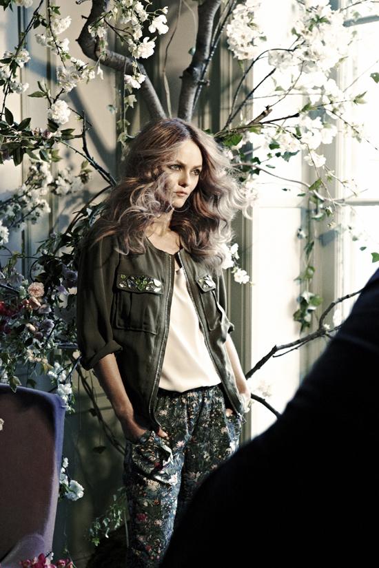 H&M Conscious Collection Vanessa Paradis ist das neue Gesicht 2013 2