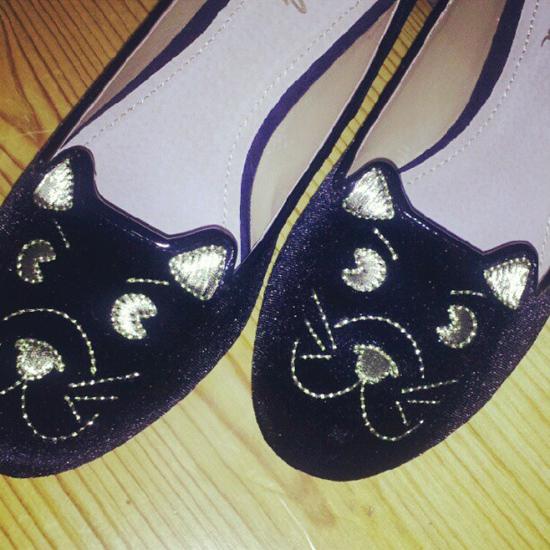 katzenschuhe kitty loafers slipper