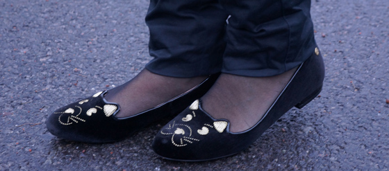 katzenschuhe kitty loafers