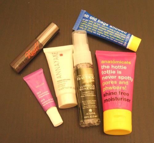 Produkte meiner Douglas Box of Beauty vom Januar 2013
