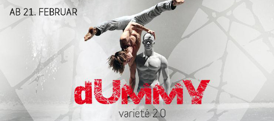 Show Variete DUMMY im Chamäleon Theater Berlin
