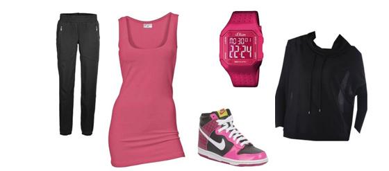 Sportoutfit pink