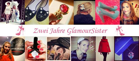 Bloggeburtstag GlamourSister zwei Jahre Blogjubiläum