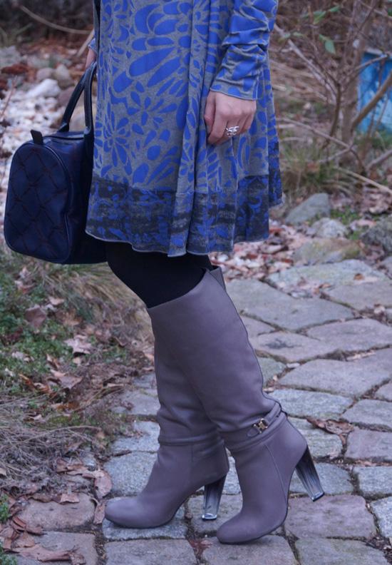 Outfit grau blau 5