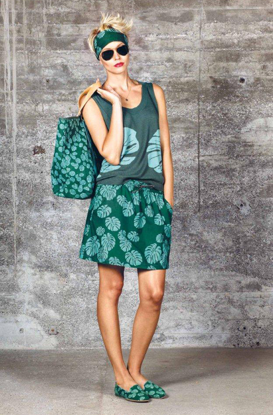 outfit flip flop Spring Summer 2013 Kollektion Green plantation a jungle journey