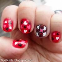 Valentinstagsnägel 4