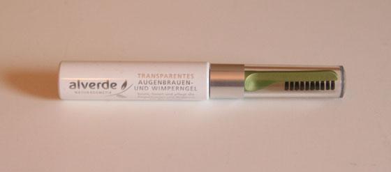 alverde transparentes Augenbrauen- und Wimperngel