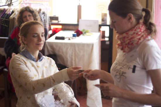 common Vintage Kleidertauschparty mit Karin