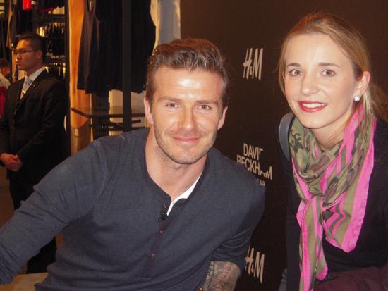 David Beckham bei H&M im Alexa Berlin 05