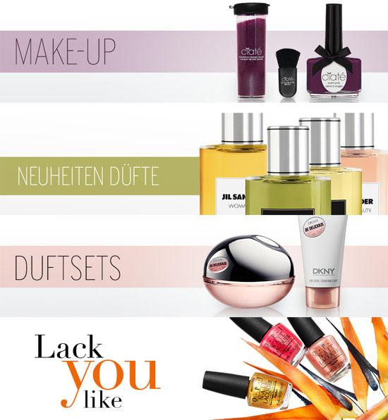 Karstadt Onlineshop Beauty Kategorien