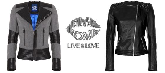 LIVE & LOVE Nouvelle Couture Lederjacken