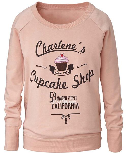 Sweatshirt mit Cupcake-Print von Geelong 01